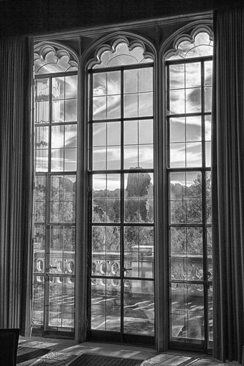 Room with a view Architecture Built Structure Castle Window Day Indoors  No People Sunlight Vintage Window Windows