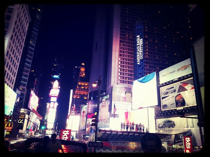 NYC Time Square Night
