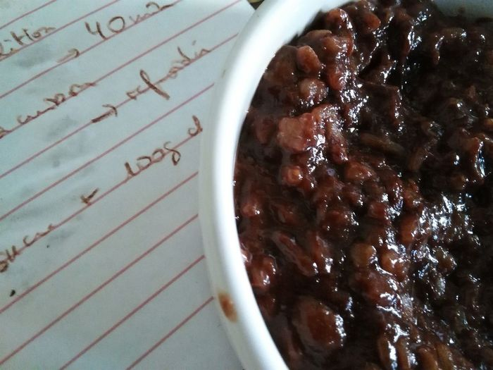 Riz au lait chocolaté Rizaulait Still Life Dessert Recette Recipe Close-up Chocolate Chocolat Riz Ricepudding