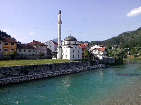 Džamija u Konjic Mosque Neretva Bosna ♡
