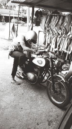 Bsa Racing Motorcycle , i love my vans , Perfect Imbalance ,