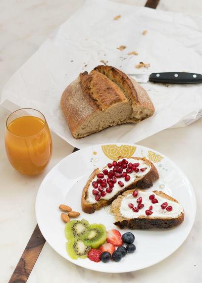 Breakfast food.