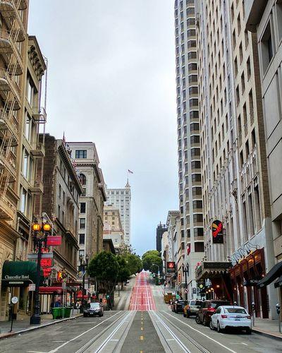 Powell Street.