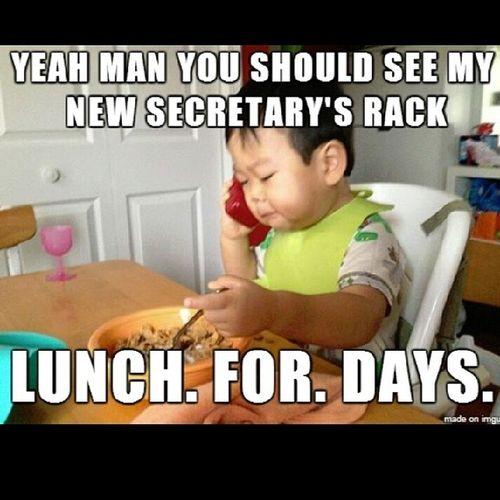 Haha! LunchForDays