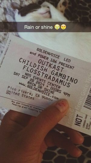 ? see you soon Childish Gambino FLOSSTRADAMUS OutKast Goldenwest