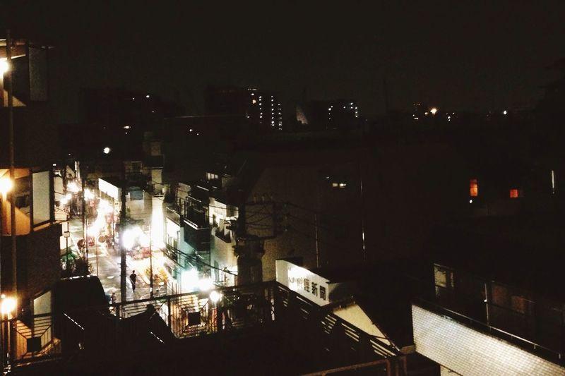 Night Lights Rain Darkness And Light もう夜