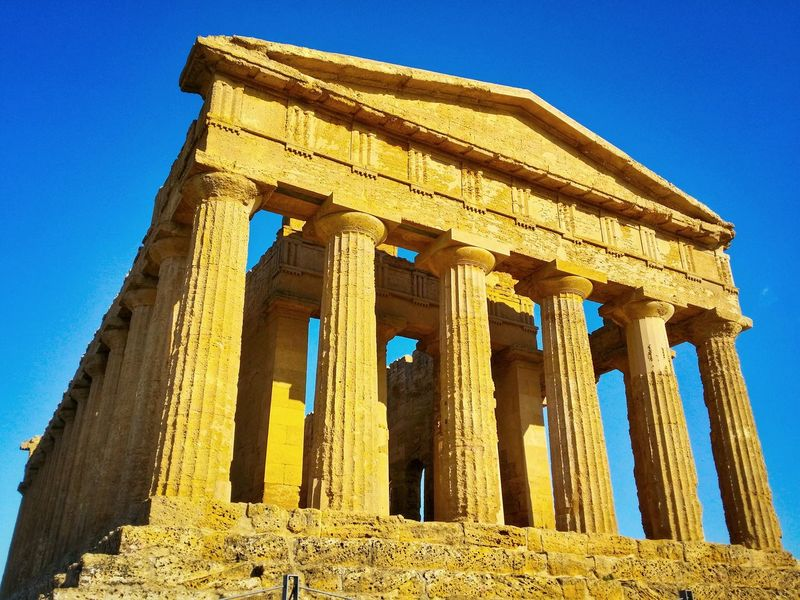 Valley Of The Temples Agrigento Sicily Italy Travel Photography Travel Voyage Traveling Mobile Photography Fine Art Architecture Classic Greek Temples Shadows Mobile Editing Showcase April