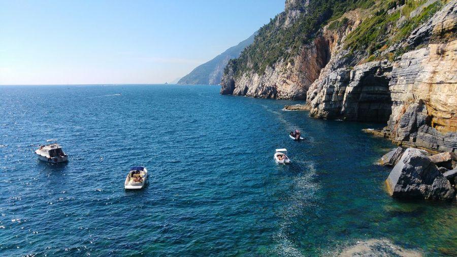 Sea Seascape Sea And Sky Sea View Italy Italia Italy❤️ Italy🇮🇹 Boat Boats Boats⛵️ Water Nature Travel Destinations Yacht Portovenere