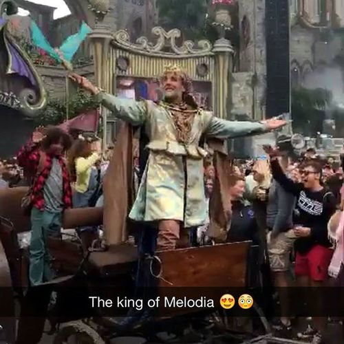 Tomorrowland Kingofmelodia Tomorrowland Streetplay Newchapter historyinthemaking tomorrowworld