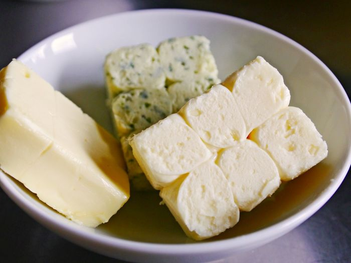 Bowl Butter Close-up Day Food Food And Drink Freshness Indoors  No People Plate Ready-to-eat Serving Size Variations
