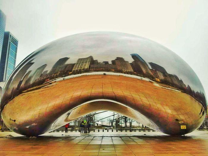 Chicago Bean Millenium Park Eyeem Photo City Life Outdoors Architecture City Cloudgate