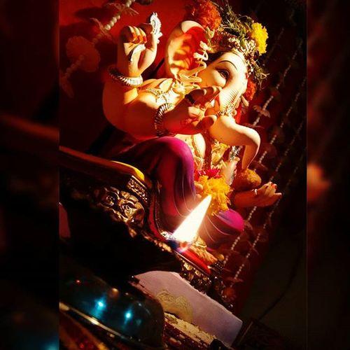 LordGanesha Indianfestival Religiousmode Feelingblessed Betraditional Stayhappy☺😇🙏
