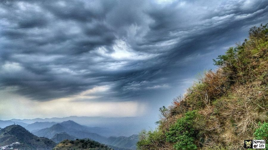 Probably The best pic of the roadtrip Dramatic Sky Cloud - Sky Nature Tree Outdoors No People Beauty In Nature Day Storm Cloud Mountain Sky Thunderstorm Travel Photography Rainy Days Outinthecountry Travel Destinations Green Color Mountains And Sky Mountain Peak Picoftheday Freshness Beauty In Nature Mountain Range Multi Colored Tranquility