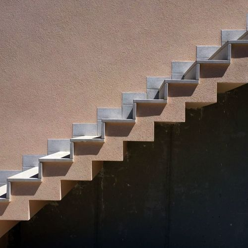 Positive/Negative Architecture Perspective Staircases Stairs Abstract Architectural Detail Architectural Feature Architecture Building Exterior Built Structure Day Mix Yourself A Good Time No People Staircase Stairways Up And Down
