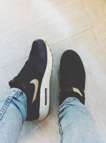 My shoes Air Max One Beautiful Taking Photos Folow Me