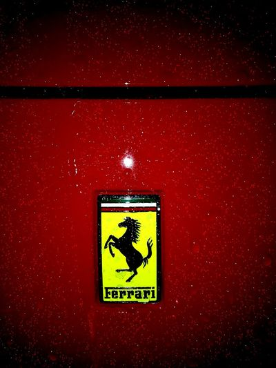 Scuderia Ferrari Speeding Car In The Rain Raindrops NightTimePhotography Makro Photography Furious Ride HuaweiP9