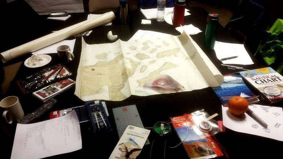 Navigation table. Riversidekayak Bonnieperrypadding Navigation Classwork