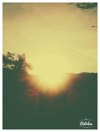 Vanishing Point beautiful sun.