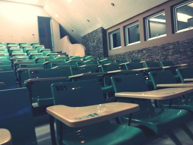Classroom Chair Chair Empty Absence Indoors  Seat In A Row Large Group Of Objects Abundance Order Conformity Arrangement Arranged No People