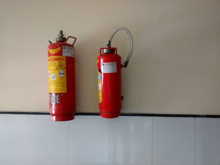 Fire Fire. EyeEm Selects Fire Fire Extinguisher Safety Health Life Building Essential Aerosol Can Red Studio Shot Close-up