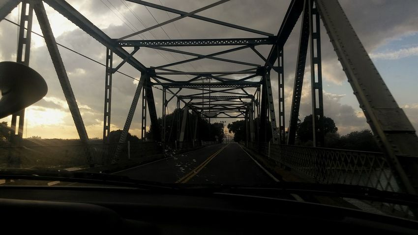 Weekend Drive Under The Bridge Cal Life Smartphonephotography River Road