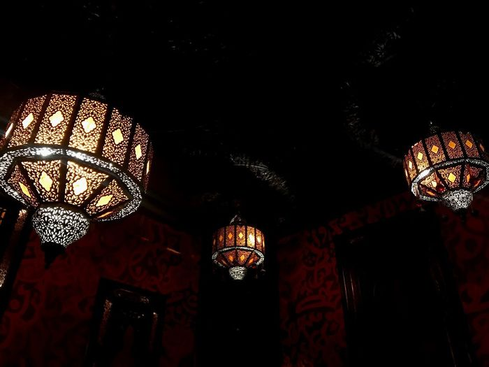 Getty Like4like Followme Divali Lights Religion And Beliefs Kenza Restaurant Middle East Hindu Cultures And Tradition Culture Temple Indian Culture  Indian Lighting Equipment Illuminated Hanging Low Angle View Indoors  Ceiling Decoration Glowing Architecture
