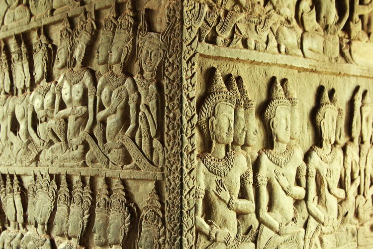 Ancient Civilization Backgrounds Full Frame Pattern Ancient History Carving - Craft Activity Art And Craft Close-up Architecture Idol Place Of Worship Cathedral Religion Temple Spirituality
