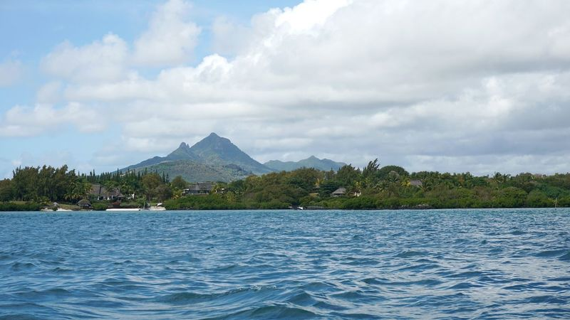 Mountain Mauritius Island  Mauritius île Maurice  Travel Destinations Tourism Ocean View Idyllic