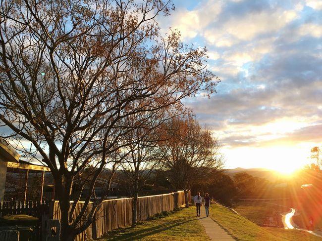 Sunset Conder Canberra Hidden Gems