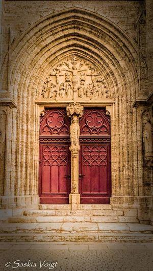 St. Bonifacius (seitliche Eingangstür) Historical Building Architecture Details Gotic Architecture Sehenswürdigkeit Architecture & Statues Gotik Style  Traveling Bad Langensalza