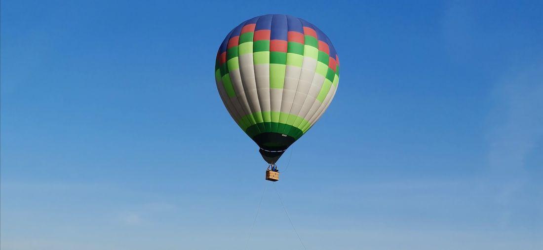 Balloon over triathlon park