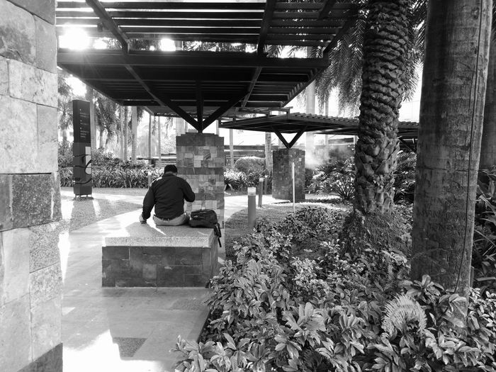 a little quiet time.... Sitting People Huawei Mate 9 City Smartphone Photography Shotwithhuaweimate9 Black And White Mobile Photography City Life Huawei Photography Black & White Adults Only Huaweiphotography Eyeem Philippines Huaweimate9 Taking Photos Huaweimobile No Edit Kokopaps
