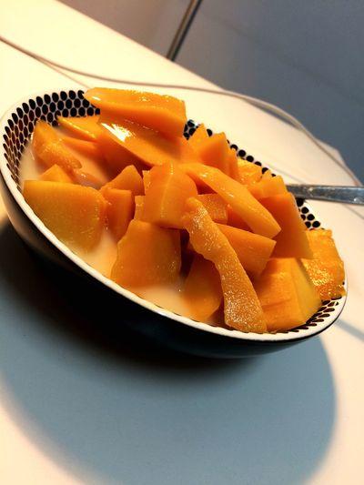 芒果➕益力多❤