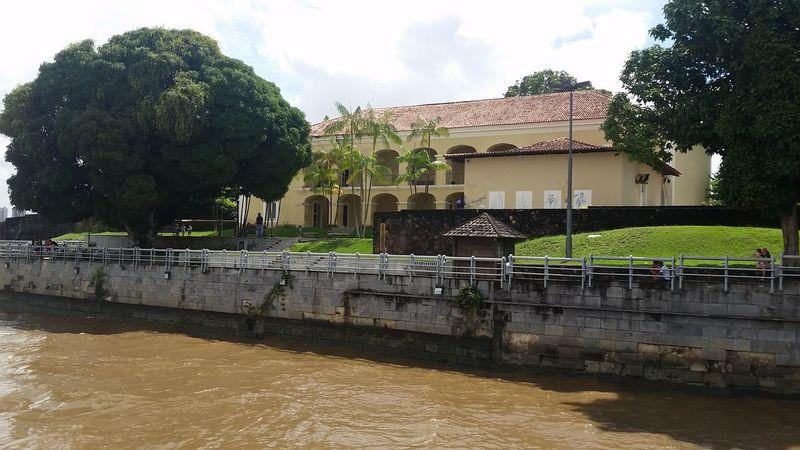 Belé antiga. Centro Historico. Casa das Onze Janelas.