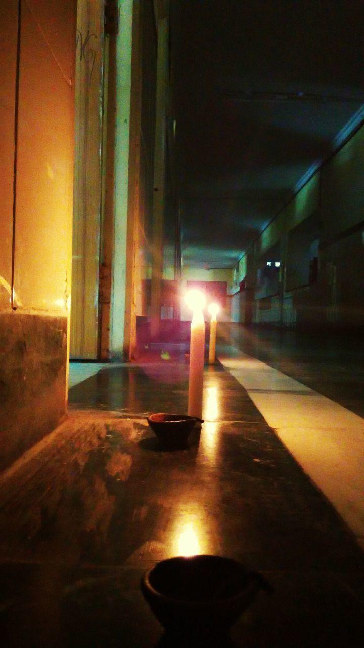 flame, burning, indoors, candle, illuminated, no people, night, diya - oil lamp, architecture