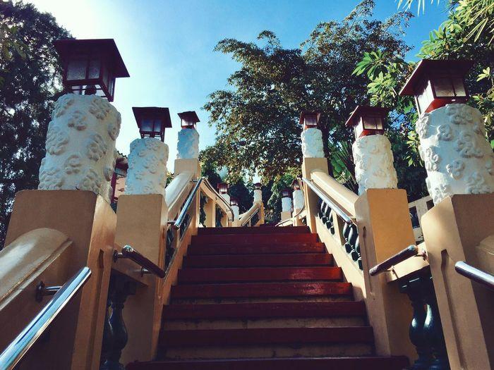 ⛩🏯 VSCO Vscocam Temple - Building Temple Taoism TaoistTemple Stairway Cebu Philippines Visayas