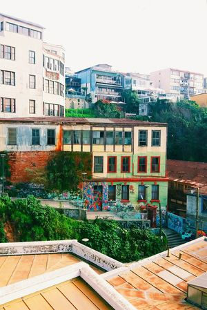 Valparaiso, Chile Valparaíso Valparaiso View Oldbuildings Oldhouses Colorful Colorfulhouses Streetgraffiti Rusted Colors Bohemian Seaside Town Vscocam VSCO
