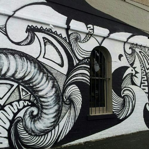 Another wall by Japan's Yuma Yoshimura Yumanizumu Streetart Streetartmelbourne Burncity urbanart art wall piece graffiti graffiti dope fitzroy aerosol spraypaint sprayart spray paint painting posca