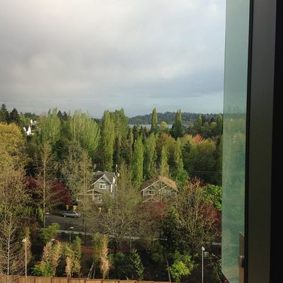 Awesome view from Jason's room Seattlechildrens Seattlechildrenshospital Cicu Donatelife donatelifetoday posttransplant
