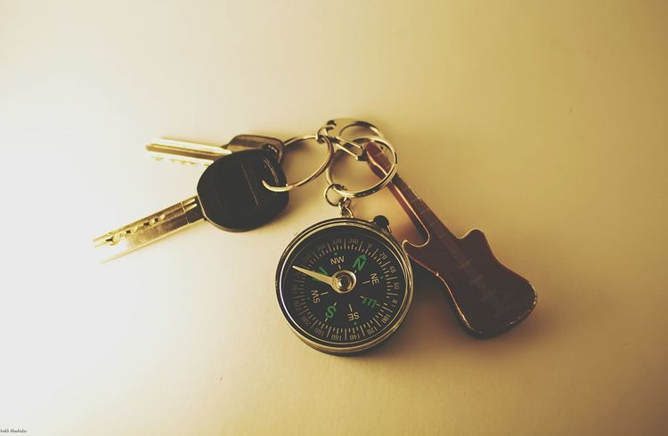 Keys Key Chain Compass Guitar Traveling Things I Like Home Darkness And Light Musical Instruments Taking Photos