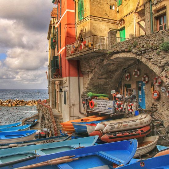 Old Buildings Boats Habour Cinque Terre Bella Italia Liguria Clouds And Sky Sky And Sea Sky And Clouds Scenery Old Town Fishing Boat Italia Summer Water_collection Sky And Water From My Point Of View Coastal_collection Coastline Harbour Waterfront Coastal Hanging Out Summertime Mediterranean
