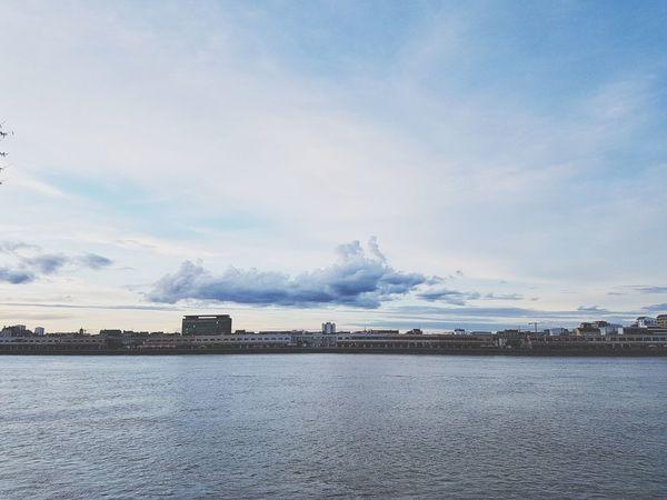 Cityscape Landscape Water Beauty Blue Sky Landscape Cloud - Sky Horizon Over Water