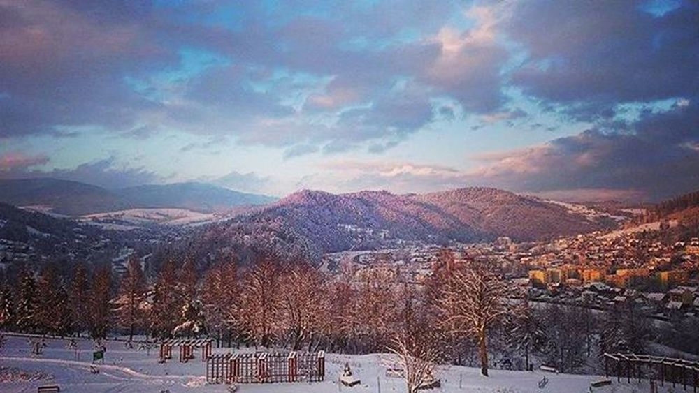 Discover the beauty around you! Memorise Polishmountains Active Winter Nature Beautifulview Behappy