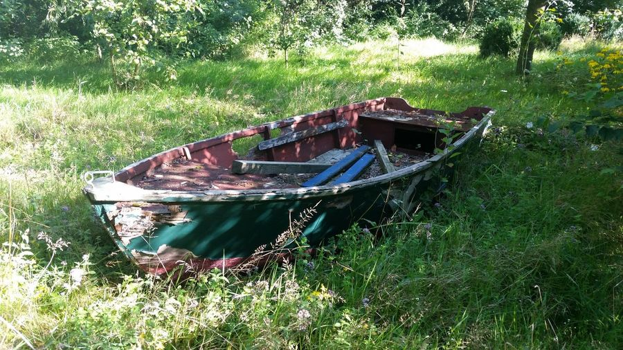 Old boat Old Boat Old Old But Awesome Boat EyeEm Best Shots Nature No People Scenics Outdoors Grass Summer Summertime Landscape_Collection EyeEm Landscape EyeEm Nature Lover EyeEm Best Shots - Nature