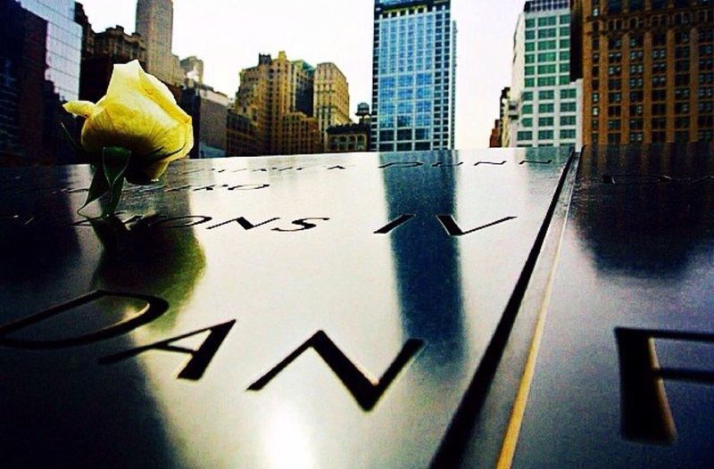 A tribute to those who died in the attack of September 11, 2001. The Traveler - 2015 EyeEm Awards
