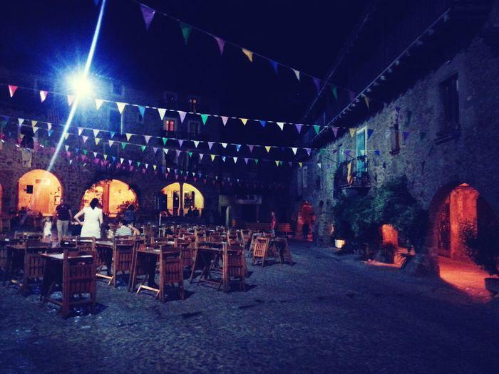 fiestaca en Santa Pau LaGarrotxa