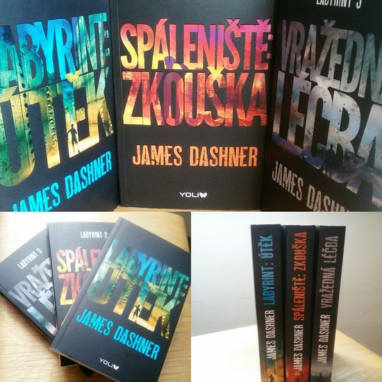 Finally got them all 😊 Books ♥ Bookcovers Book Collections The Maze Runner The Scorch Trials The Death Cure Jamesdashner Bookstagram Booklover Bookporn