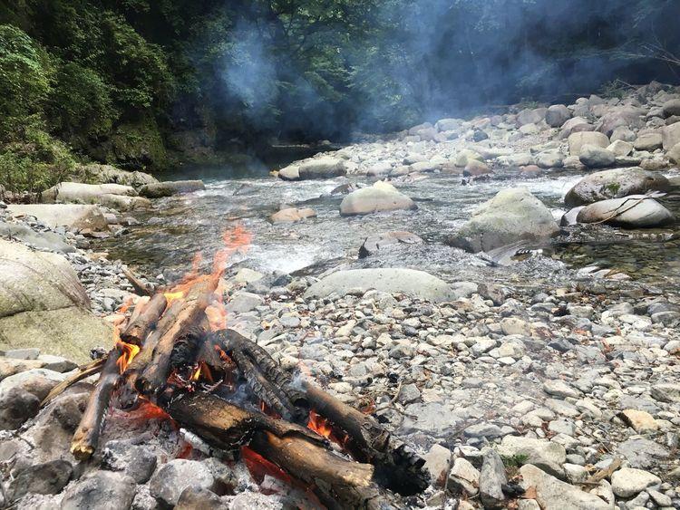 大自然 癒し 焚き火 緑 川 Tochigi 風景 Enjoying Life Enjoy Hi! 絶景 Fishing Bonfire Japan Forest Riverside