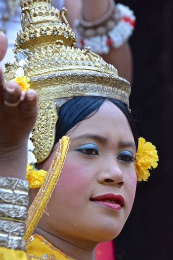 Cambodia Dance Siem Reap Angkor Bayon Temple Traditional Cambodian Clothes Traditional Cambodian Costumes Traditional Dances