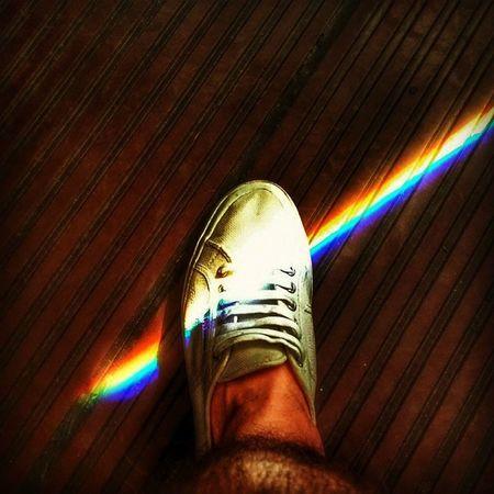 Continuous Spectrum Sunlight Seven colors optical phenomenon